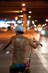 Tattooed Biker photo by christian.senger