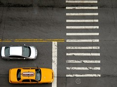 Yellow Cab in New York photo by Eric Demarcq