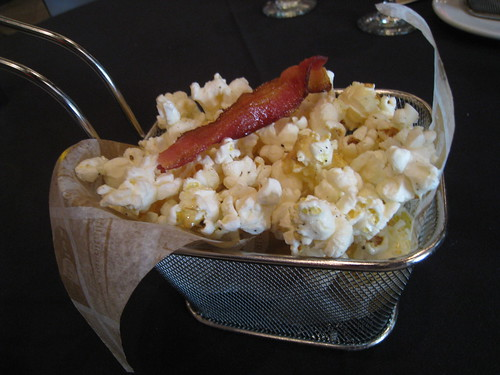 Bacon Truffled Popcorn