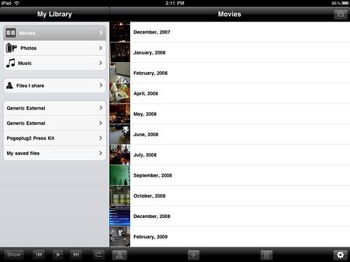 PogoPlug iPad App