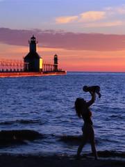 Sunset Silhouette photo by PhotoDocGVSU