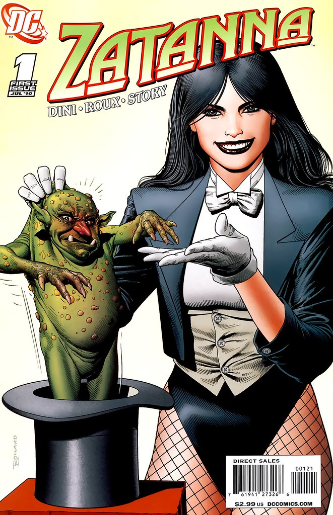 Zatanna 1 variant cover by Brian Bolland 2010
