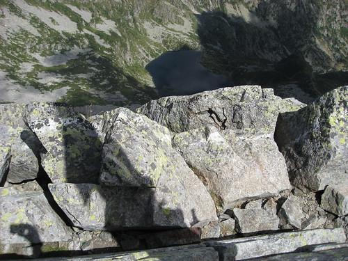 Il Lago della Vecchia visto dal Monte Cresto