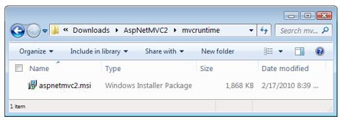 aspnetmvc2.msi hiding inside AspNetMVC2.exe