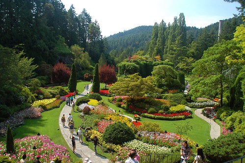 Anacortes ferry butchart garden and victoria random - What time does victoria gardens open ...