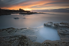 Tantallon Castle Sunset photo by Graham Stirling
