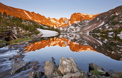 Lake Isabelle Reflection - Indian Peaks Wilderness, Colorado photo by Lightvision [光視覺]