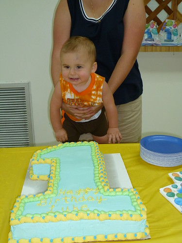Luke's 1st Birthday Party