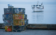 Lonely Lobster Traps photo by thebucch