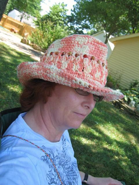 Giddyup Go Cowboy-Style Hat: Dot Matthews (bythehook) - Crochetville