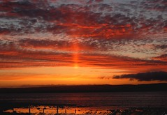 Crystal Pillar Sunset over Liscannor Bay photo by Gaz-zee-boh
