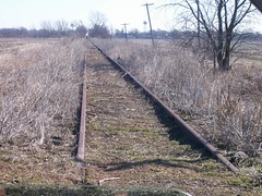 Bloomer Line - North end of trackage. photo by Jesse B - IL