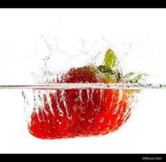 Strawberry Splash photo by marciocvital