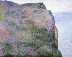 Claude Monet - The Pointe du Petit Ailly in Gray Weather at Kreeger Art Museum Washington DC photo by mbell1975
