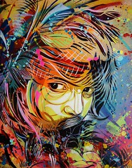 "C215 - ""Sounds of Silence"" photo by C215"