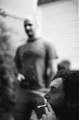 smoke and the joy of film photo by brownbeatle