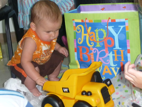 Luke's First Birthday