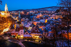 Cesky Krumlov Christmas town photo by Marquisde