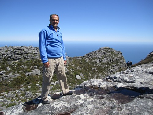 Vasile Filat pe Table Mountain