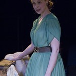 Natasha Lowe (Blanche) in A STREETCAR NAMED DESIRE at Writers Theatre. Photos by Michael Brosilow.