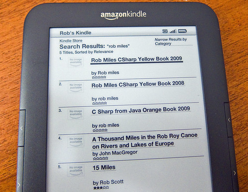 Rob On Kindle