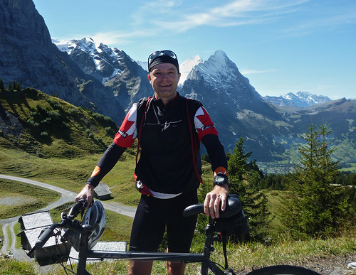 View of Eiger (and me)