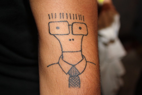 Descendents tattoo photo by Dan Rawe Photography