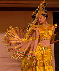 golden dancers of beijing photo by MohdShareef