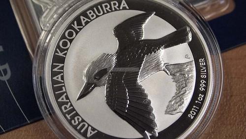 Bullion Coin Gold Australian Kangaroo 2011