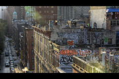 Chinatown flare photo by Dj Poe