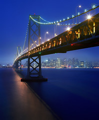 Bay Bridge, Pentax 6x7 photo by Zeb Andrews