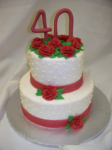 40th anniversary cakes image search results