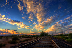 Farewell you blessed train tracks photo by Mike Olbinski Photography