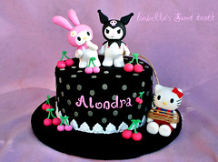 kuromi cake photo by Isabella's sweet tooth (johanna)