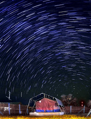 African Star Trails. photo by Tomasito.!