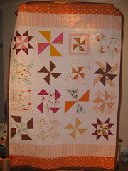 front of mendocino pinwheel sampler photo by dana and thread