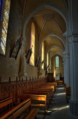 Eglise de Vocance en Ardèche France