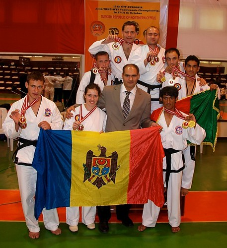 Moldova's team championship medals in Taekwon-Do in Cyprus