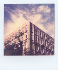 West Village Golden Hour (Polaroid) photo by ravikjolly
