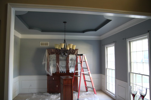 dining room ceiling fun