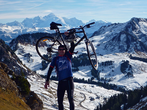 from Col de Chavan