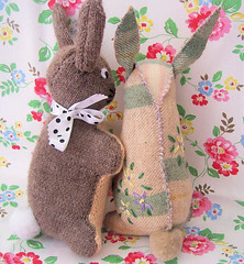 Chillington Bunnies back view photo by Bustle & Sew