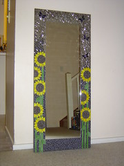 Sunflower Mirror photo by Diane Kitchener