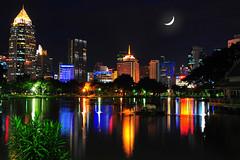 Lumpini Park Lights photo by MikeBehnken