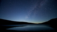 Lake Waiau at night photo by CHUCKage