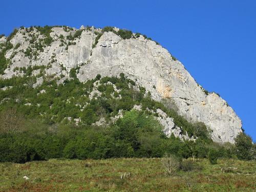 La falaise d'Arguibelle : site d'escalade