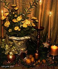Golden Christmas Joy: #Flickr12Days photo by faith goble