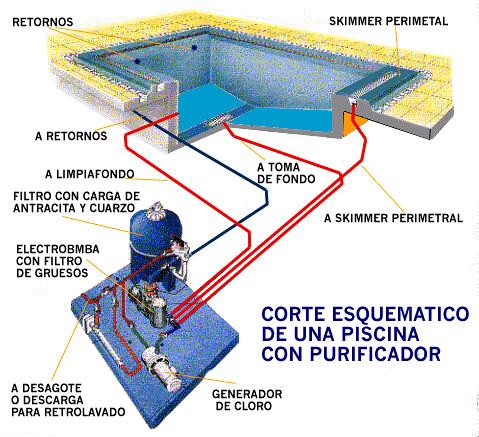 Las piscinas definicion y partes arquidromo for Planos para construir una piscina