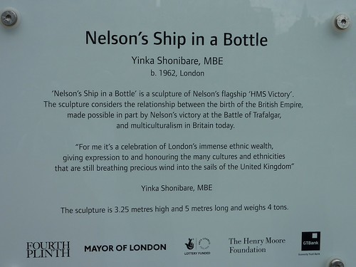 trafalgar square bottle info