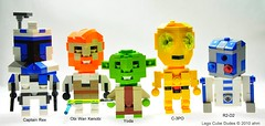 "Star Wars Lego Cube Dudes ""Clone Wars Edition"" photo by KatanaZ"